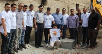 road safety and security campaign Nablus