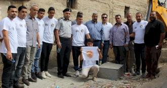صور من حملة الامن والسلامة على الطرق نابلس