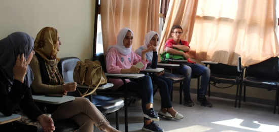 Hearing Session in Nablus