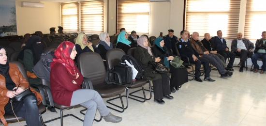 Development of cooperation mechanism between civil police and local communities in Salfit  Taawon For Conflict Resolution in partnership with the Palestinian police and funded by GIZ implemented a preparatory meeting in preparation