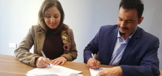 Ta'awon for conflict resolution and Dawaer institution signed a joint agreement