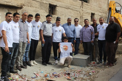 الائتلاف الوطني للمساءلة المجتمعية ينفذ حملة الامن والسلامة